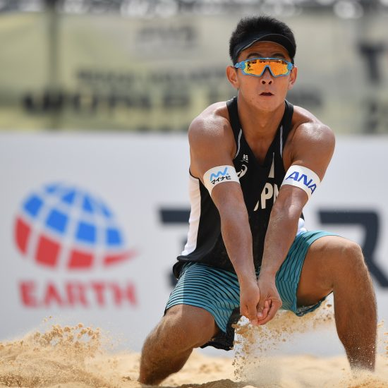 PLAYERS INTERVIEW⑦ <br>髙橋 巧<br>男子FIVBランキング<br>日本人トップ<br>178㎝のスピードスター