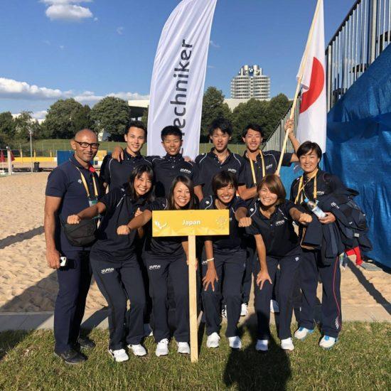 日本勢、世界の壁に阻まれ敗退。<br>「FISU世界大学ビーチバレーボール選手権」
