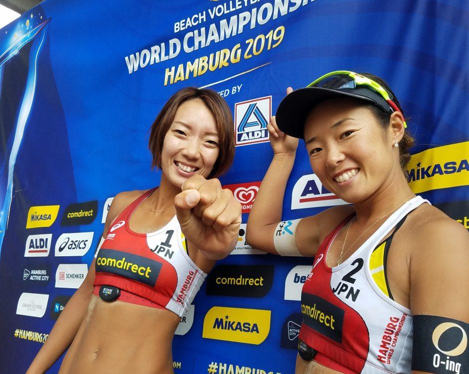 石井/村上組、世界ランク上位15ヵ国入り。「オリンピック・クオリフィケーショントーナメント」出場決定。
