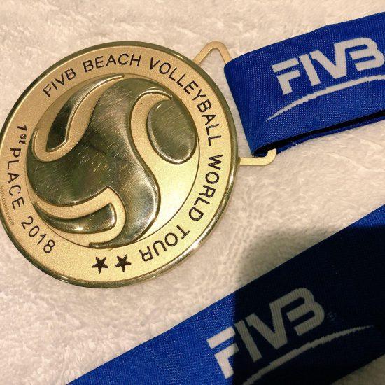 溝江/橋本組、ワールドツアー晋江大会で<br>金メダルを獲得