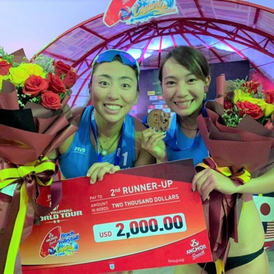 鈴木/坂口組、初戦で銅メダル獲得。ワールドツアープノンペン大会。
