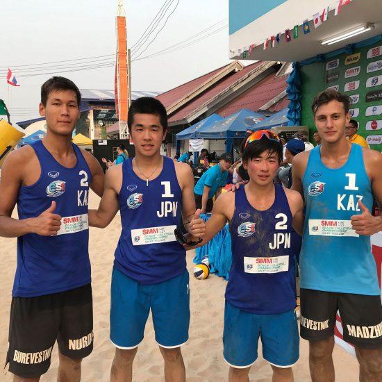 後藤/林組が日本最高順位の5位タイで終了。<br>「U21アジア選手権」結果