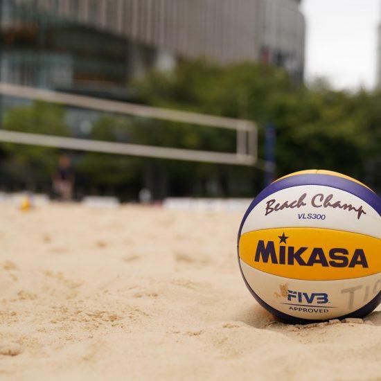 地上波、生放送。男女2ヵ所会場、同時開催。「東京2020ビーチバレーボール日本代表チーム決定戦」