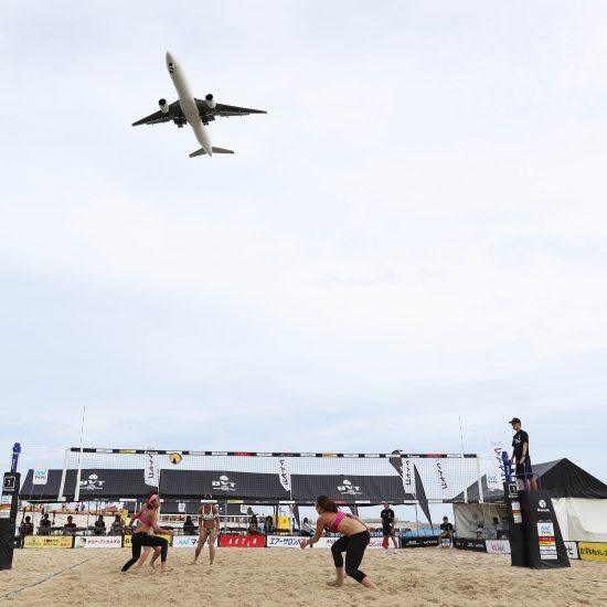 沖縄・美らSUNビーチで開催。<br>「マイナビジャパンツアー第3戦沖縄大会」。