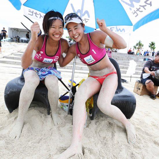 坂口/村上組、初優勝。石島/白鳥組が2勝。<br>「マイナビジャパンツアー2019第3戦沖縄大会」最終日。