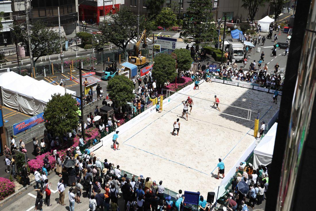 2020東京へのプロモーション。「JBV品川オープン2019」、高橋/長谷川組、二見/長谷川組が優勝。