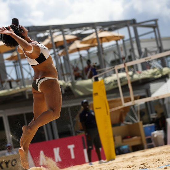 男女ともにチャイニーズ・タイペイと対戦。「AVCオリンピックアジア大陸予選 第1フェーズ」。