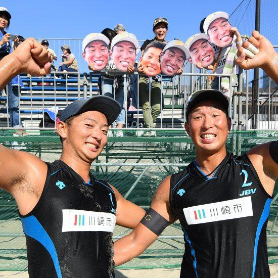 10回目の節目を迎えた「川崎市長杯」。村上/倉坂組、西堀/草野組が優勝。