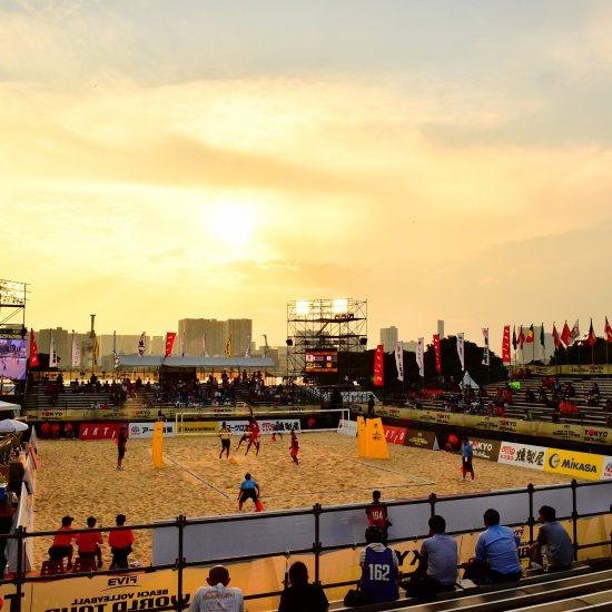 石井/村上組、石島/白鳥組ら接戦を落とす。<br>「FIVBワールドツアー2019 4star東京大会」プール戦