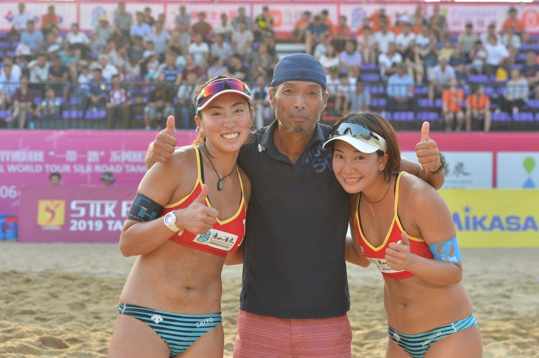 鈴木/坂口組、銅メダルを獲得。「FIVBワールドツアー 2-starシルクロード南京市大会」