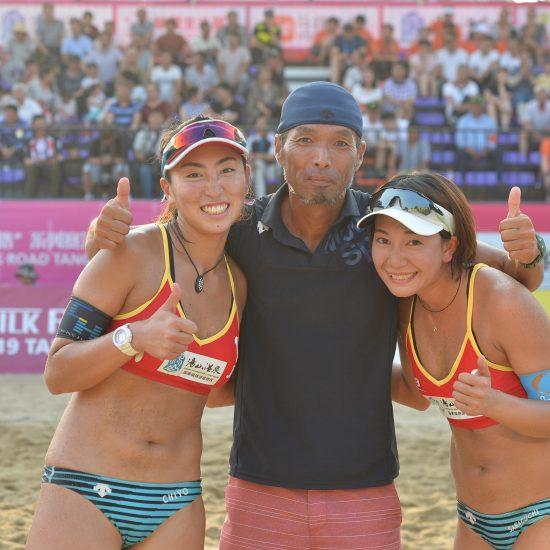鈴木/坂口組、銅メダルを獲得。<br>「FIVBワールドツアー 2-starシルクロード南京市大会」