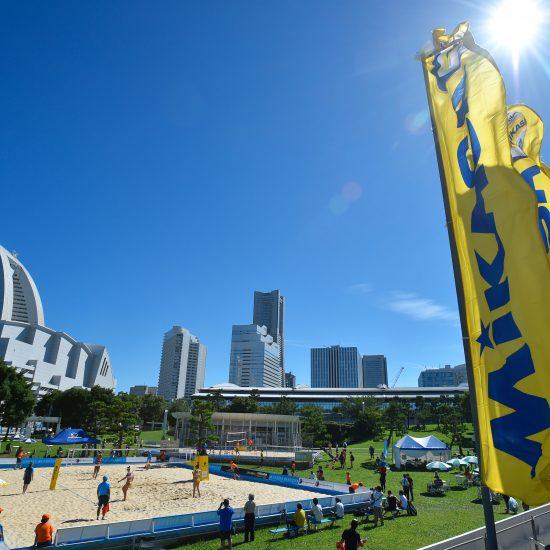 「FIVBワールドツアー東京大会」、<br>「3スター」へ変更。<br> 段階を追って充実化を図る