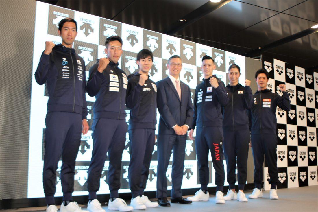 『デサント』2019年新ウェア発表。各競技の日本代表が統一のコンセプトで始動。