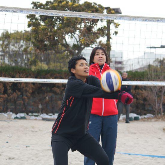 春高からビーチへ。<br>U21アジア選手権のエントリーチーム決定。