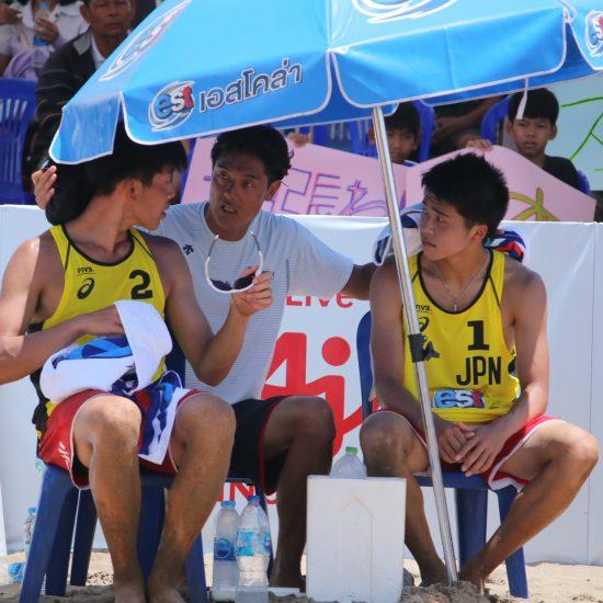 後藤/安達組、過去最高の17位タイ。「U21世界選手権」男子結果