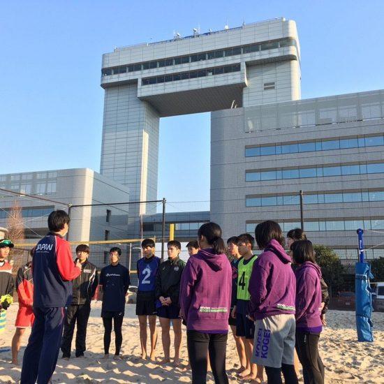 「U17・19・21ビーチバレーボールトライアウト」開催。<br>参加者募集。