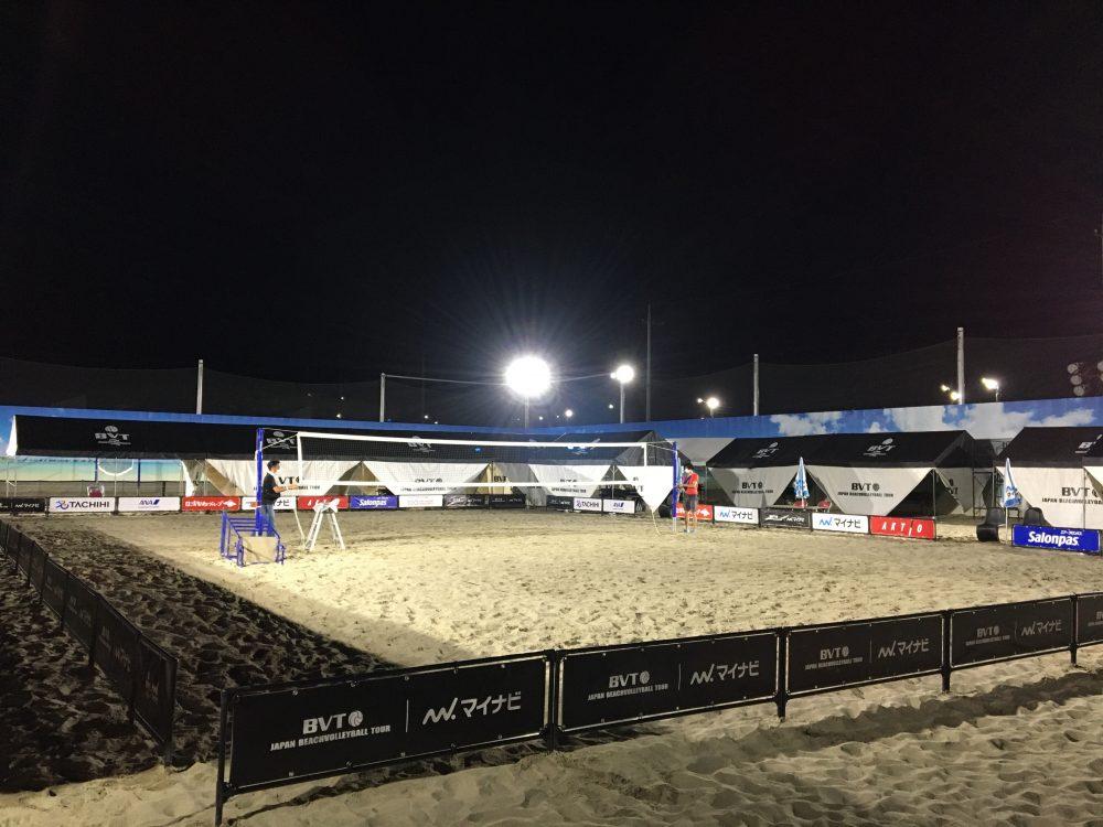 マイナビジャパンビーチバレーボールツアー2020が10月31日に開幕