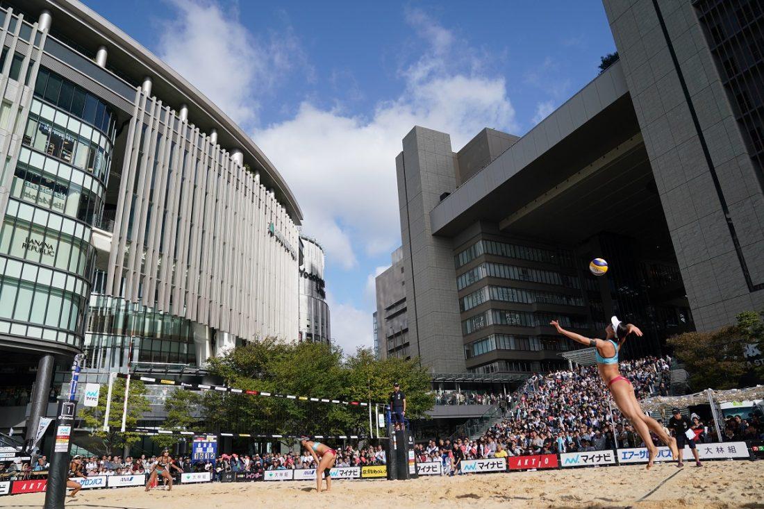 マイナビジャパンビーチバレーボールツアー2020立川立飛大会 チケット情報
