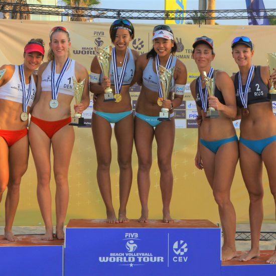 チーム初の金メダルを獲得。<br>「FIVBビーチバレーボールワールドツアー 1-starテルアビブ大会」。