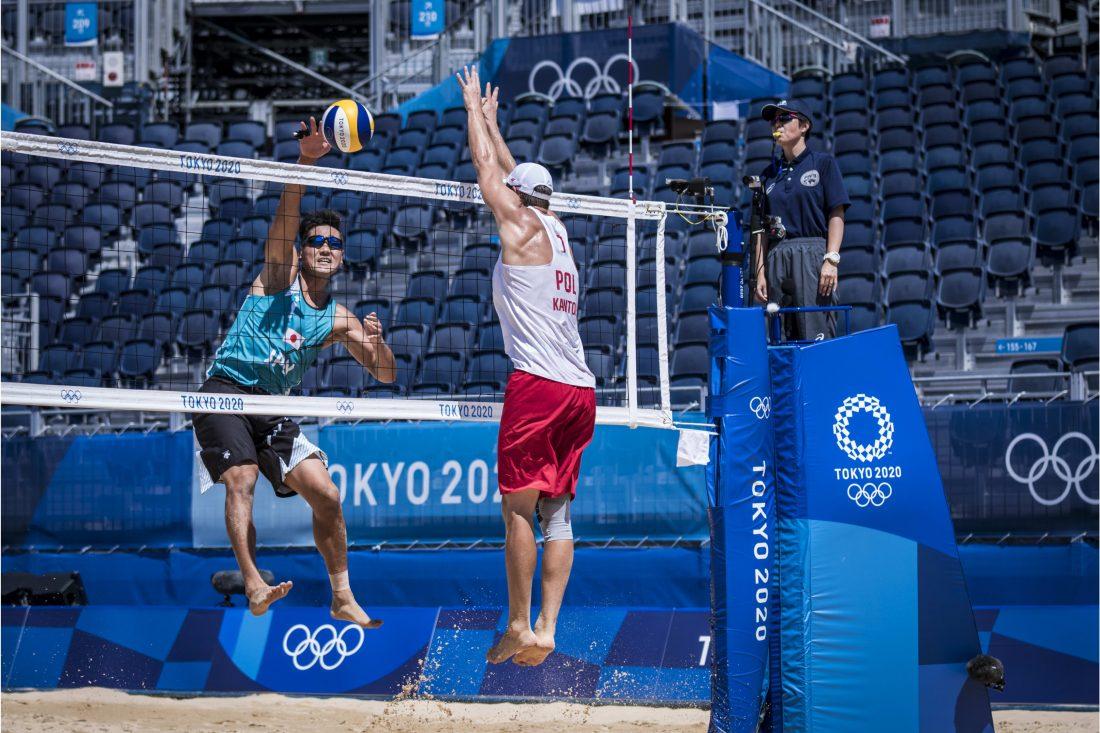 東京2020オリンピック 男子 予選ラウンド初戦 ポーランド戦結果